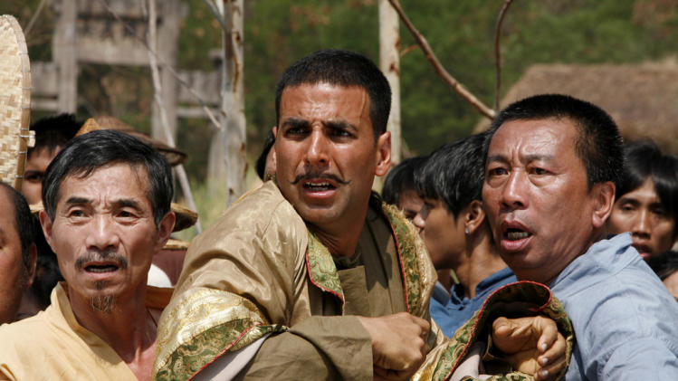Akshay Kumar Chandni Chowk to China Production Stills Warner Bros. 2009