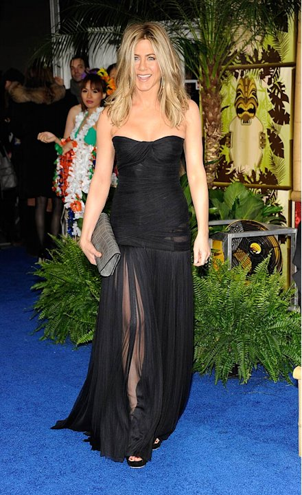 Jennifer Aniston Just Go With It Premiere