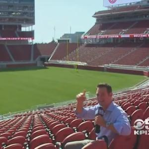 Inside Levi's Stadium: Candlestick-Like Wind Missing, But Still Breezy