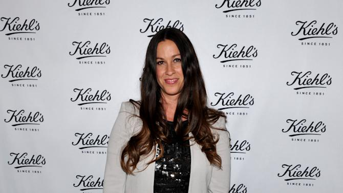 IMAGE DISTRIBUTED FOR KIEHL'S - Musician Alanis Morissette attends Kiehl's Earth Day Celebration at Kiehl's on Wednesday, April  17, 2013, in Santa Monica, Calif. (Photo by John Shearer/Invision for Kiehl's/AP Images)