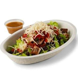 Healthy lunch options from Chipotle