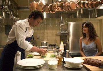 Adam Sandler and Paz Vega in Columbia Pictures' Spanglish