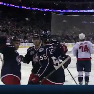 Mark Letestu Goal on Braden Holtby (03:45/2nd)