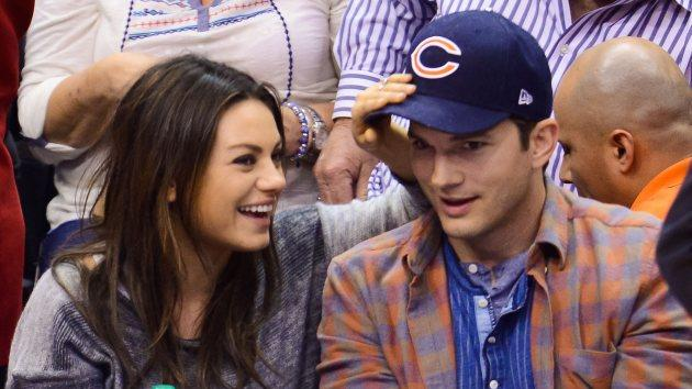 Mila Kunis and Ashton Kutcher -- Getty Images