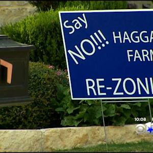 Protests Over Development Plans For Historic Farm