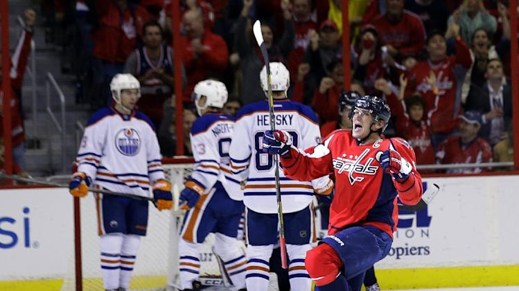 Caps score 3 quick goals in 2nd, top Oilers 4-2