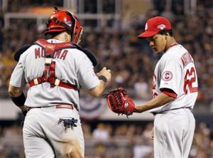 MLB: NLDS-St. Louis Cardinals at Pittsburgh Pirates