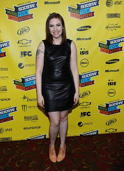 Nominee: Lena Dunham for Best Performance by an Actress in a Television Series – Comedy or Musical