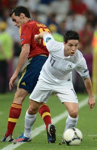 France/Spain - Nasri targets …
