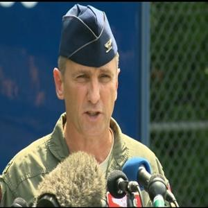 Military Searches for Pilot After Jet Crashes
