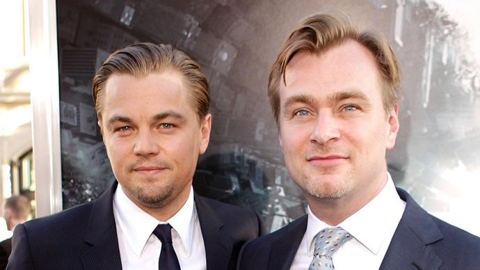 Inception LA Premiere 2010 Leonardo DiCaprio Christopher Nolan
