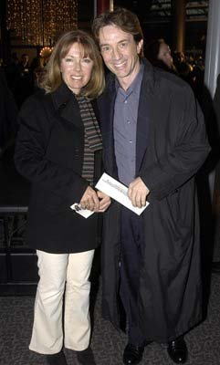 Martin Short and wife at the Hollywood premiere of Warner Bros. A Mighty Wind