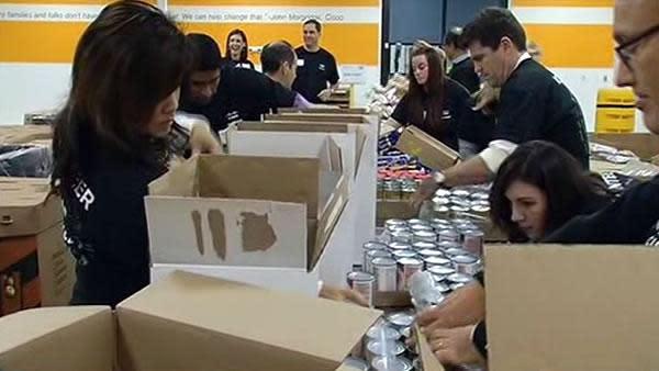 Second Harvest Food Bank kicks off holiday food