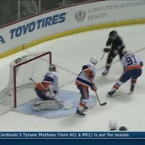 Winnik threads the needle to set up Cogliano