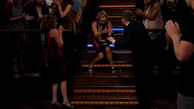 Katie Couric's Awesome April Fools' Prank on James Corden