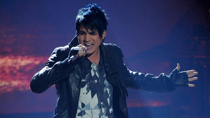"Adam Lambert performs ""Born to Be Wild"" by Steppenwolf from ""Easy Rider"" on ""American Idol."""