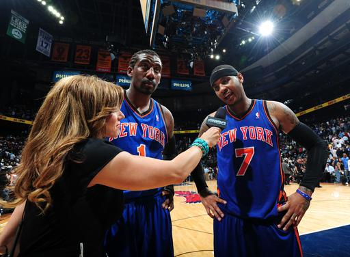Anthony scores 39, Knicks beat Hawks 113-112