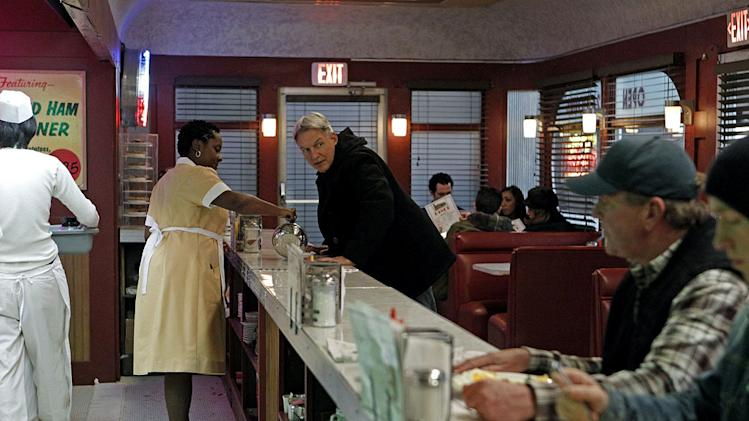 "Mark Harmon as Special Agent Leroy Jethro in the 200th episode of ""NCIS"" titled, ""Life Before His Eyes."""