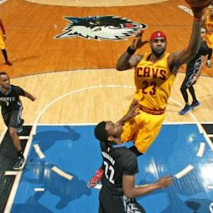 Cavaliers vs. Timberwolves