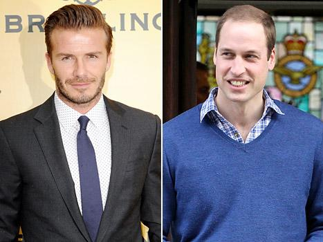 "David Beckham: Kate Middleton, Prince William Will Be ""Amazing Parents,"" Are ""So Loving"""