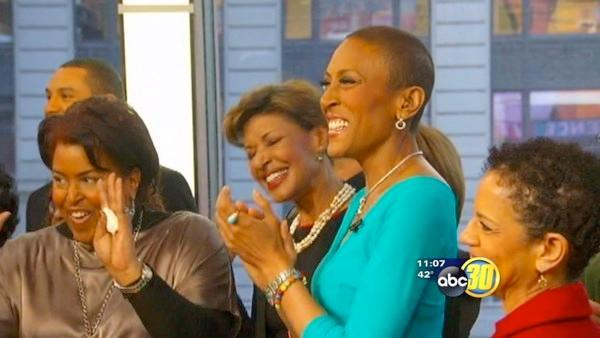 Good Morning America's Robin Roberts returns