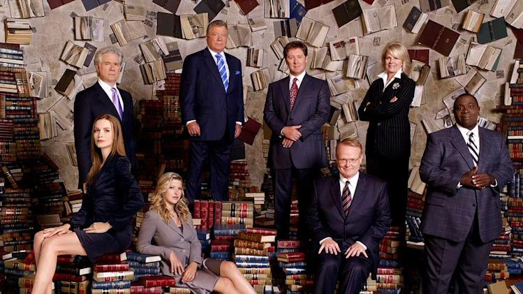 The cast of Boston Legal.