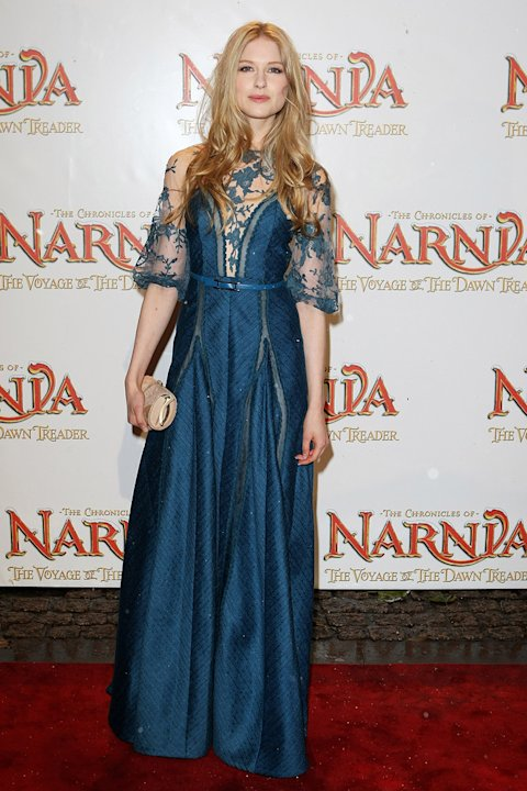 The Chronicles of Narnia The Voyage of the Dawn Treader 2010 UK Premiere Laura Brent