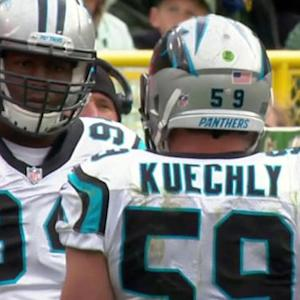 Carolina Panthers linebacker Luke Kuechly ejected