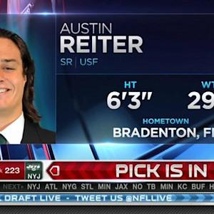 Washington Redskins pick center Austin Reiter No. 222 in 2015 NFL Draft