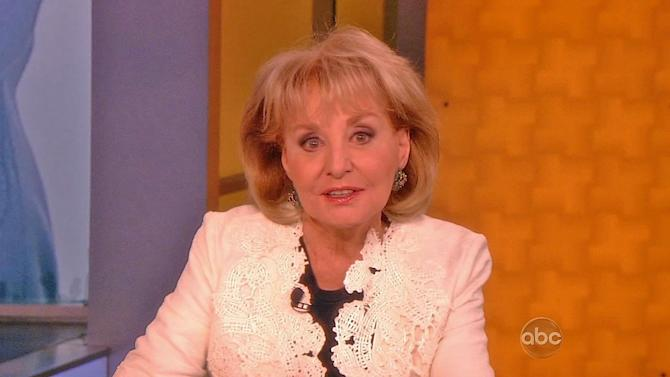 Barbara Walters announces retirement on 'The View'