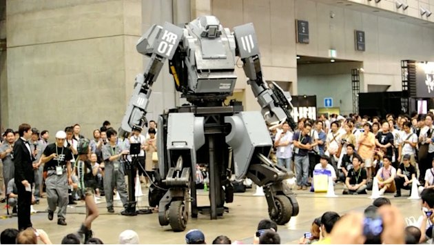 Kuratas, el robot gigante