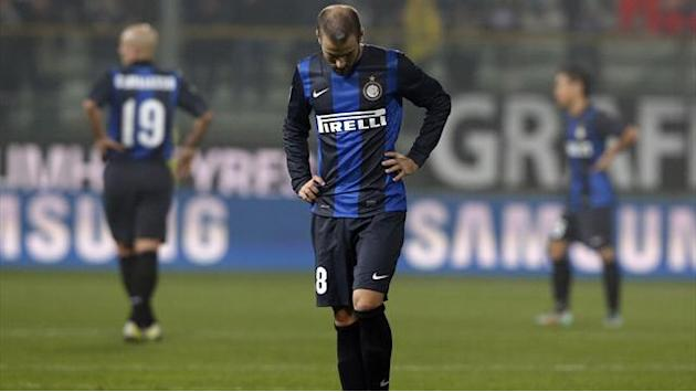 Serie A - Inter's Palacio sidelined with hamstring injury