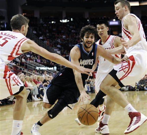 Harden, Lin rally Rockets past Minnesota