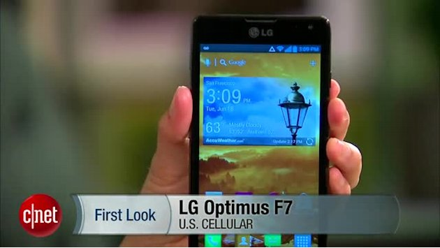 Take off with the LG Optimus F7