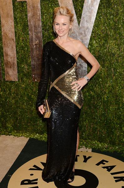 Best dressed: Naomi Watts The Impossible Emilio Pucci Vanity Fair Party Image © Rex