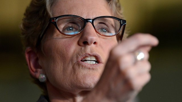 Video: Ontario premier speaks out on Rob Ford crack allegations