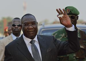 Then Central African Republic president Michel Djotodia …