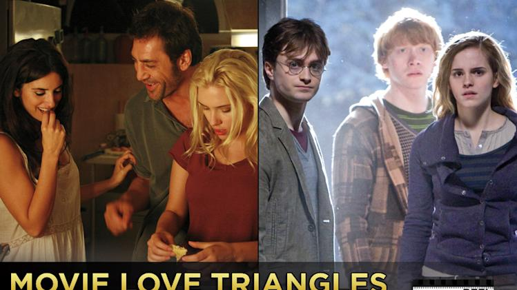 Movie Love Triangle title card