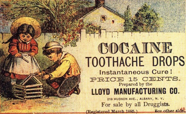 Lloyd Cocaine Toothache Drops