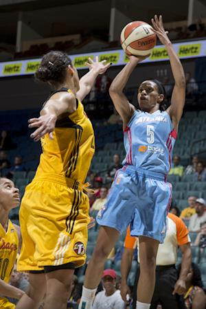 Johnson leads Shock to 90-63 win over Dream