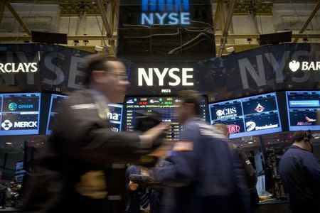 Wall Street ends at record in second straight weekly gain