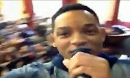 Will Smith Makes Surprise Visit To Brixton