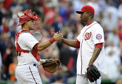 Nationals beat Tigers 5-4 for 2-game sweep