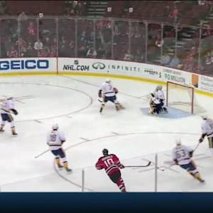 Carter Hutton Save on Peter Harrold (02:25/1st)