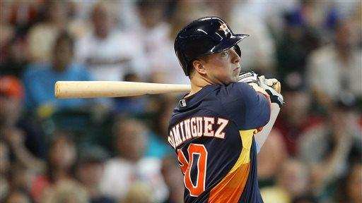 Astros win 4th straight, 5-4 over White Sox