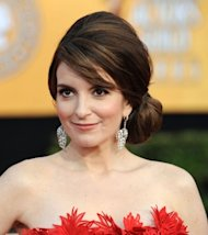 Tina Fey arrives at the 17th Annual Screen Actors Guild Awards held at