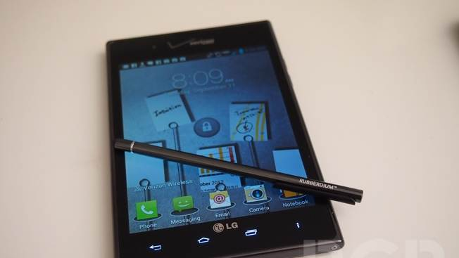 Hands-on with Verizon's LG Intuition 'phablet'