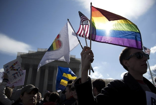 Majority now supports gay marriage: Poll