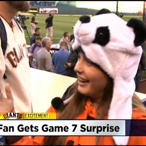 Dad Surprises San Francisco Giants Fan At School With Tickets To World Series Game 7