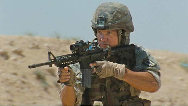 The Hurt Locker Production Photos Summit Entertainment 2009 Jeremy Renner